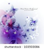 colorful music background with... | Shutterstock .eps vector #103503086