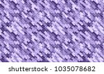 ultra violet abstract... | Shutterstock . vector #1035078682