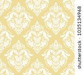 classic seamless vector white... | Shutterstock .eps vector #1035134968