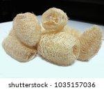 thai luffa scrub   Shutterstock . vector #1035157036