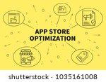 conceptual business... | Shutterstock . vector #1035161008