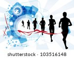 sport vector illustration | Shutterstock .eps vector #103516148