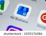 sankt petersburg  russia ...   Shutterstock . vector #1035176386