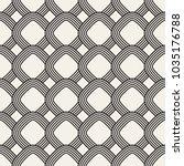 vector seamless pattern. modern ... | Shutterstock .eps vector #1035176788