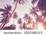 retro stylized picture of... | Shutterstock . vector #1035180115