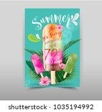 summer sale discount  end of... | Shutterstock .eps vector #1035194992