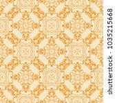 seamless wallpaper pattern in... | Shutterstock .eps vector #1035215668