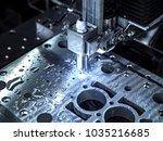 industrial metalworking cnc... | Shutterstock . vector #1035216685