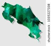 map costarica map each city... | Shutterstock .eps vector #1035227338