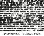 distressed overlay texture of... | Shutterstock .eps vector #1035235426