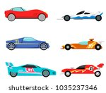 sport speed automobile and... | Shutterstock .eps vector #1035237346