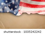 flag of usa | Shutterstock . vector #1035242242