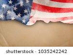 flag of usa | Shutterstock . vector #1035242242