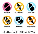 set symbols in prohibiting...   Shutterstock .eps vector #1035242266