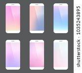 minimal style modern mobile...