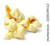 tasty popcorn. elements for... | Shutterstock .eps vector #1035249112