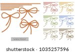 rope  rope  two tone thread....   Shutterstock .eps vector #1035257596