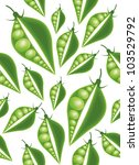 green peas seamless pattern | Shutterstock .eps vector #103529792