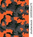 fashionable camouflage pattern  ... | Shutterstock .eps vector #1035301675