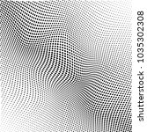 abstract halftone pattern... | Shutterstock .eps vector #1035302308