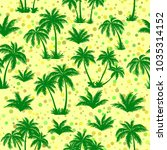 exotic seamless pattern ... | Shutterstock . vector #1035314152