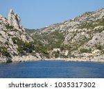 a wonderful creek in the... | Shutterstock . vector #1035317302