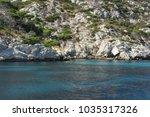 a wonderful creek in the... | Shutterstock . vector #1035317326