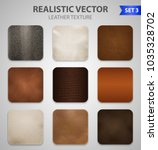 realistic high quality genuine... | Shutterstock .eps vector #1035328702
