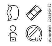 icons camera with cameraman ... | Shutterstock .eps vector #1035340492