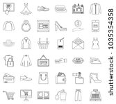 wholesale trade icons set....   Shutterstock .eps vector #1035354358