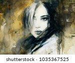 Loner. Acrylic Painting