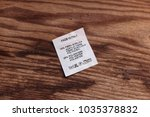 Small photo of washing instruction plate