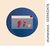 vector illustration. stationery ... | Shutterstock .eps vector #1035422476