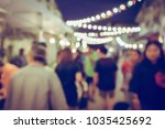 vintage tone blurred defocused... | Shutterstock . vector #1035425692