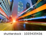 abstract image of blur motion... | Shutterstock . vector #1035435436