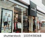 hong kong  february 15  2018 ... | Shutterstock . vector #1035458368