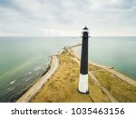 aerial view of lighthouse at s  ... | Shutterstock . vector #1035463156