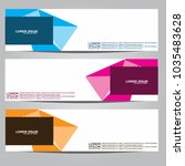 vector design banner... | Shutterstock .eps vector #1035483628