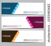 vector design banner... | Shutterstock .eps vector #1035483682