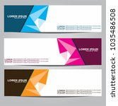 vector design banner... | Shutterstock .eps vector #1035486508