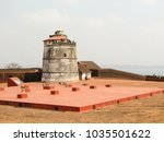 fort aguada and its lighthouse | Shutterstock . vector #1035501622