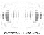 abstract halftone wave dotted... | Shutterstock .eps vector #1035533962