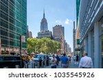 new york city   june 18  2017 ... | Shutterstock . vector #1035545926