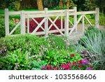 Decorative Small Wooden Bridge...