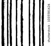 black and white paint lines... | Shutterstock .eps vector #1035581626