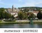 france  the city of triel sur... | Shutterstock . vector #103558232