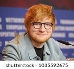 ed sheeran attends the ... | Shutterstock . vector #1035592675