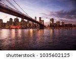 new york city  | Shutterstock . vector #1035602125