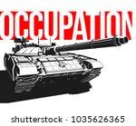 design banner illustration with ... | Shutterstock .eps vector #1035626365
