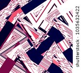 chevron background. zigzag... | Shutterstock . vector #1035632422